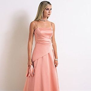 Alfred Angelo 6622 Coral Bridesmaids Prom Dress